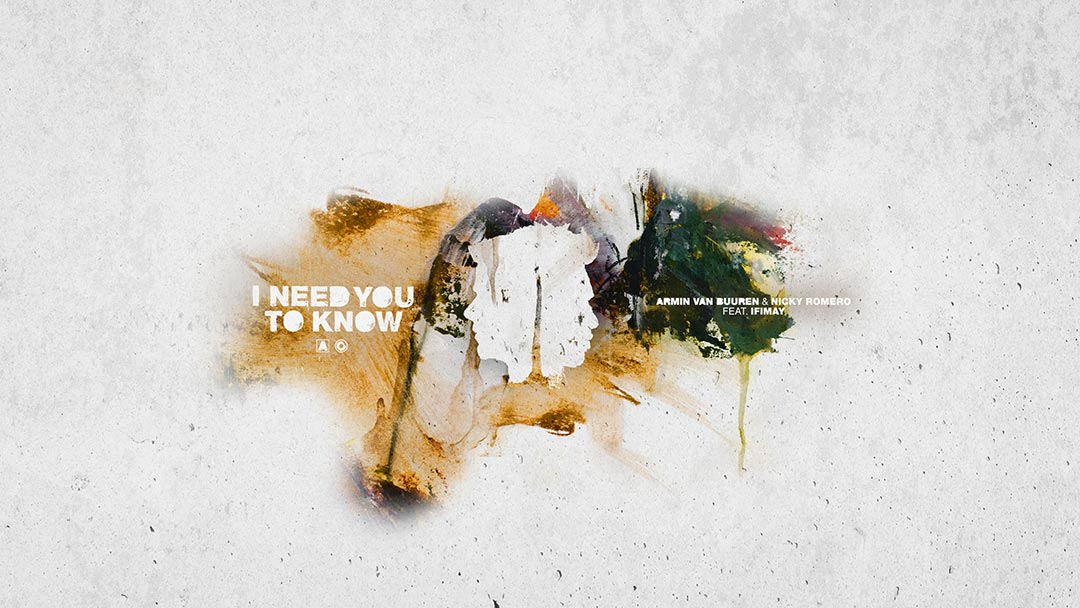 "Armin van Buuren and Nicky Romero celebrate debut collab ""I Need You To Know"" ft. Ifimay"