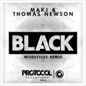 MAKJ & Thomas Newson - Black (Wildstylez Remix)